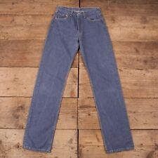 "Womens Vintage Levis Red Tab 501 Blue Denim Mom Jeans 28"" x 34"" R14970"
