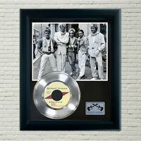 """Duran Duran """"Hungry Like The Wolf"""" Silver Framed Record Display"""