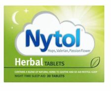 Nytol Herbal Tablets - Natural Sleeping Sleep Insomnia Remedy Aid - 30 TABLETS