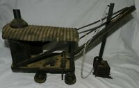 Antique Buddy L Pressed Steel Steam Shovel Toy