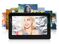 """NEW BLACK EVODIGITALS 32GB 4.3"""" TOUCH SCREEN MP5 MP4 MP3 PLAYER VIDEO + TV OUT"""