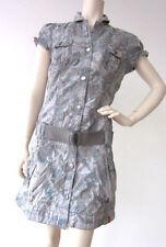Geblümte Normalgröße Damenkleider aus 100% Baumwolle