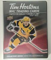 2020-21 Upper Deck Tim Hortons Hockey Binder NHL