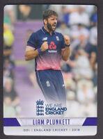 Tap N Play - England Cricket 2018 - Base # 70 Liam Plunkett - Yorkshire