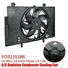 Fits for 2011-2018 Ford Fiesta Radiator Ac A/C Condenser Cooling Fan Fo3115186