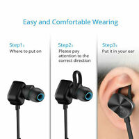Upgraded Mpow® Coach Wireless Earphone Sweat-proof Noise Cancellation Headsets A