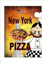 New York Cafe Sign Vintage Style Cafe Sign Shop Sign  Tea Room Sign Kitchen Sign
