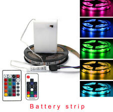 5V Battery box Strip led RGB 5050 Flexible Remote Control Lights 3.28ft/6.56ft