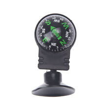 Pocket Ball Dashboard Mount Navigation Compass Car Boat Truck Suction Black IU