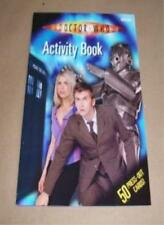 Activity Book (Doctor Who)-BBC