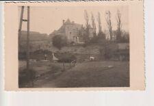 Oude Postkaart CPA  Fotokaart Château de Tarcienne Walcourt Vue d'e la Rivière