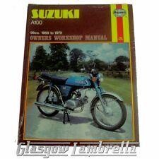 Suzuki Motorcycle Service & Repair Manuals Haynes 1969 for
