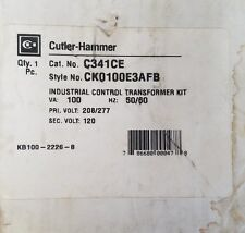 Cutler Hammer C341CE Industrial Control Transformer Kit CK0100E3AFB