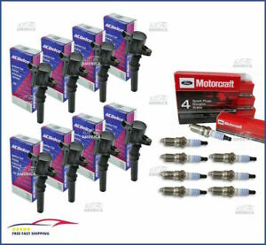 (8) OEM ACDELCO IGNITION COIL & (8)Motorcraft Spark plugs 4.6L 5.4L F150 Mustang