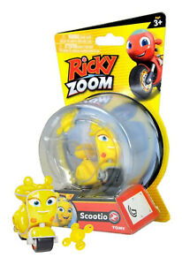 Ricky Zoom Scootio the Scooter TOMY New in Package