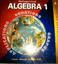 Mcdougal Littell Algebra 1 - Teacher's Edition by Ron Larson