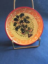 Ceramica de Espana Hand Painted Rasping Grating Zesting Dish
