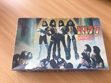 KISS LOVE GUN JIGSAW PUZZLE FROM 1977 COMPLETE MEGO RARE 1980 AUCOIN MB