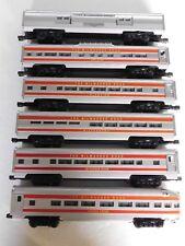 O Scale - Williams - Milwaukee Road Set of (6) Passenger Car Trains!