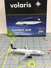 RARE Gemini Jets 1:400 GJVOI1042 Volaris Airbus A320 XA-VON