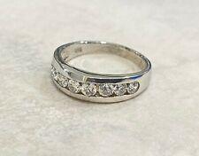 Rings - Sterling Silver - Cubic Zirconia - Clear Zirconia - Australian Seller