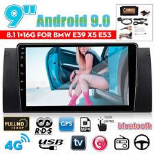 """9"""" Android 8.1 Autoradio Stereo Navi MP4 Wifi bluetooth pour BMW E38 E39 E53"""
