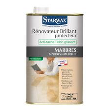 Starwax Rénovateur brillant protecteur pour marbre et pierres naturelles 1 litre