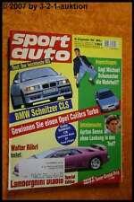 Sport Auto 9/94 Schnitzer CLS Diablo Spezial Edition