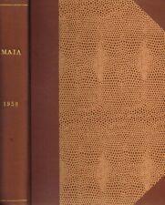 MAIA. RIVISTA DI LETTERATURE CLASSICHE vol.X anno X n.s.