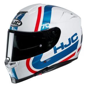 Casco Helm Casque Helmet HJC RPHA 70 GAON MC21 BIANCO BLU ROSSO 2019 taglia M