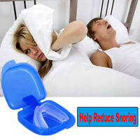 Stop Snoring Mouthpiece Sleep Guard Anti Snore Tray Sleeping Aid Mouthguard