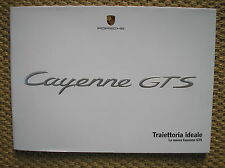 NUEVA PORSCHE CAYENNE GTS VENTAS FOLLETO 2007 ITALIANO EN ITALIANO PROSPEKT