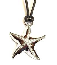 collana stella CRIVELLI in oro bianco 18 kt e diamanti ct 0,72