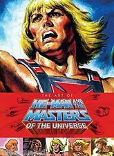 Art of He Man & the Masters of the Universe Hardcover Book Mattel MOTU New Mint