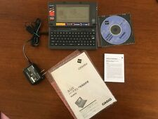 Casio Cassiopeia A-51V Vintage Handheld Computer PDA with charger guides CD A-51