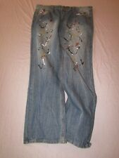 mens enyce sean combs straight jeans 40x34 nwt paint splatters