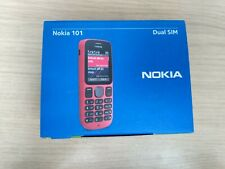 Brand new Boxed Nokia 101 Unlocked Black Dual Sim Mobile Phone