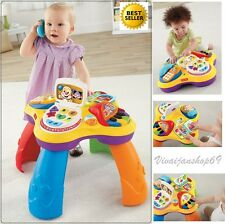 Activity Toy Kid Learning Table Laptop,Phone,Book,Piano for Infant Toddler Fun