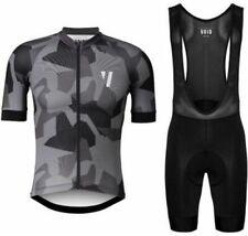 Cycling Clothing Men Set Bike Bicycle Wear Short Sleeve Jersey Bib Shorts Gel T