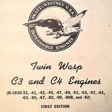 Pratt Whitney R-1830-Series Twin Wasp Overhaul Manual