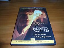 The Talented Mr. Ripley (Dvd, Widescreen 2000)