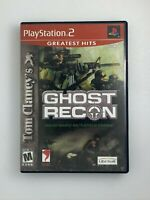 Tom Clancy's Ghost Recon (Greatest Hits) - Playstation 2 PS2 Game - Complete