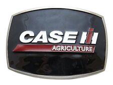 Case IH Agriculture Black Enamel Belt Buckle