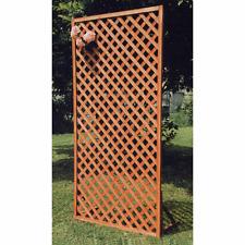 pannello grigliato 90x180 cm in legno senza appoggi per giardino