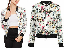 Unbranded Zip Outdoor Floral Coats & Jackets for Women