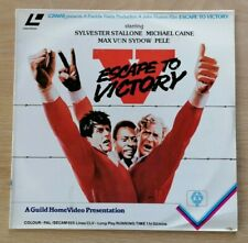 Escape to Victory (1981) PAL Laserdisc GHLV 1447