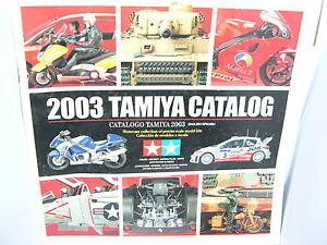 Tamiya Catalog Edicion 2003 English/Spanish 107 Paginas