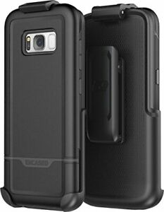 For Samsung Galaxy S8 Plus Belt Clip Holster Case, Protective Tough Case