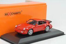1990 PORSCHE 911 964 Turbo Rosso 1:43 MAXI Champs/Minichamps
