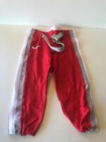 Slightly Used Football Game Pants NIKE  Red/Grey/White Size Large
